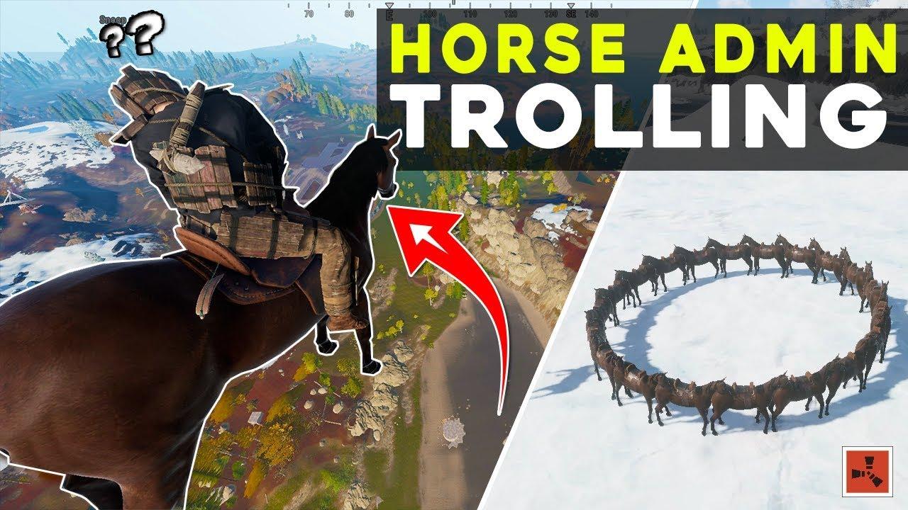 so I made a CUSTOM *HORSE* TROLLING plugin
