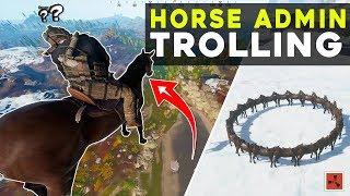 so I made a CUSTOM *HORSE* TROLLING plugin...