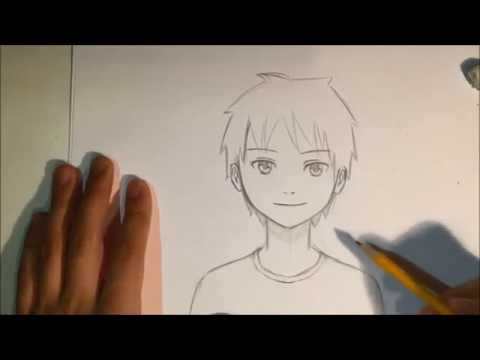 how-to-draw-anime-male-face-[slow-narrated-tutorial]-[no-timelapse]