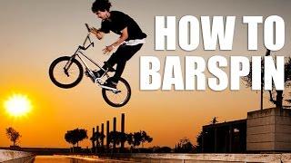 Как сделать барспин на BMX/MTB (How to barspin bmx)   Школа BMX Online #6 Дима Гордей
