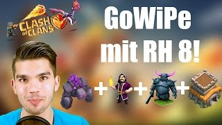 CLASH OF CLANS: GoWiPe mit TH 8 ?!? ✭ Let's Play Clash of Clans [Deutsch/German HD]