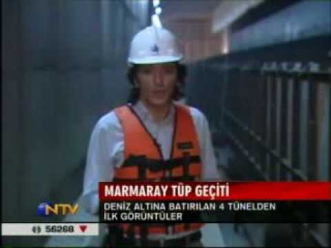 Marmaray NTV News immersed tunnel bosphorus