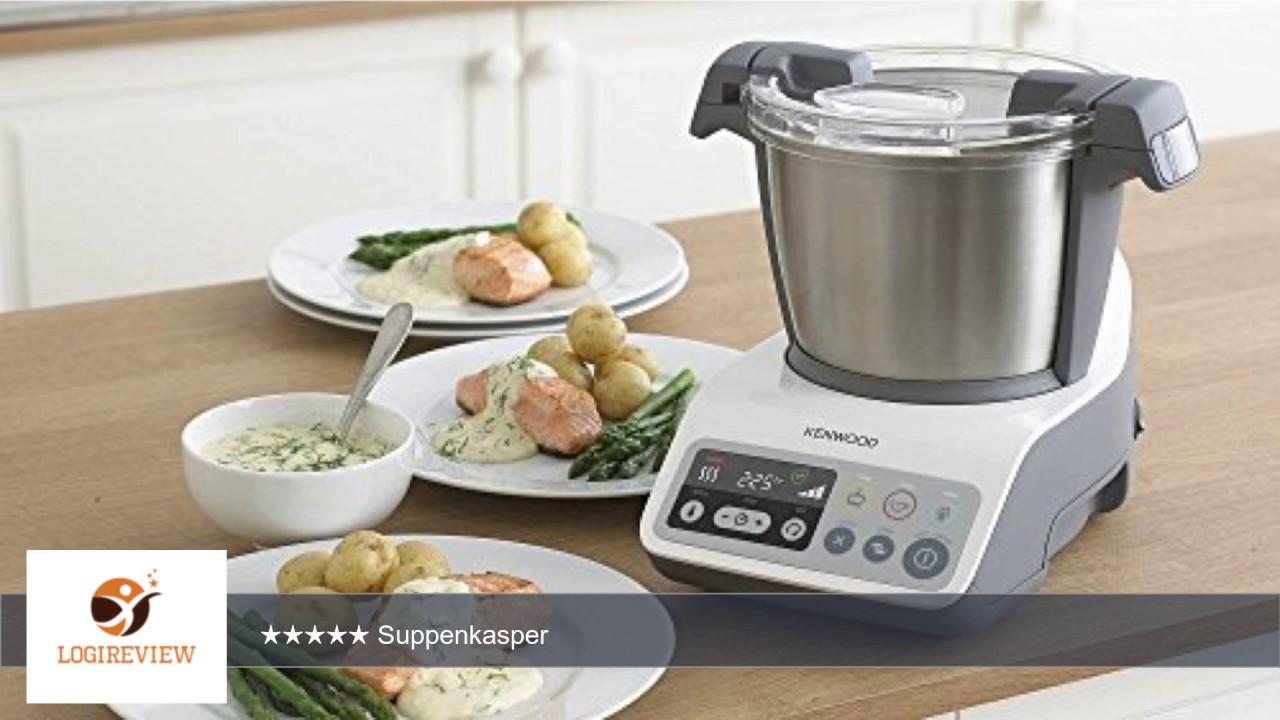 Kenwood CCC200WH kCook Kompakt-Küchenmaschine mit Kochfunktion ...