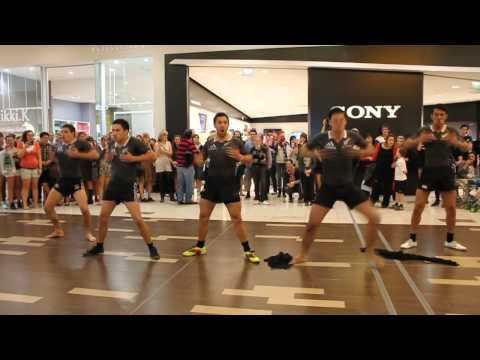 RWC Flash Mob Haka Christchurch - OFFICIAL