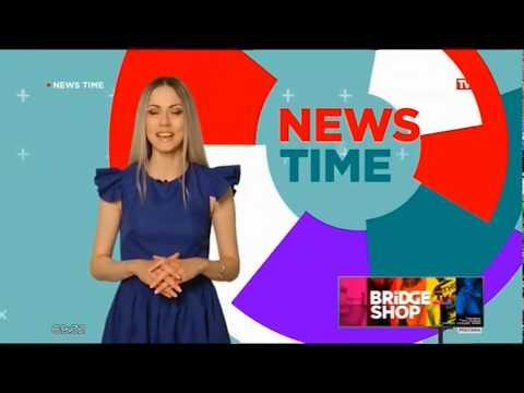 конец Wake Up Call, News time и заставка на BRIDGE TV Classic (2.06.2019)