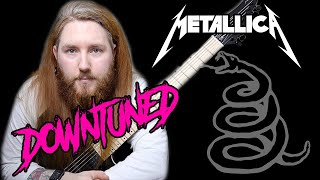What If Metallica Tuned Down? The Black Album Guitar Riff Medley SPONSORED By DistroKid
