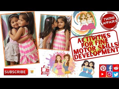Activities for Fine Motor Skills Development [Sensory Development in Toddlers]