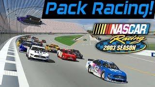 PACK RACING! | MENCS19 Mod at Michigan Int. Speedway | NASCAR Racing 2003 Season