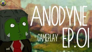 Anodyne Gameplay - E01 - Varrendo Amoebas [PT-BR]
