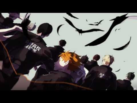 [Romaji] Haikyuu!! OP 1 Full [Spyair - Imagination]