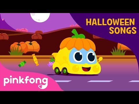 Halloween Cars | Car Songs | Halloween Songs | Pinkfong Songs for Children