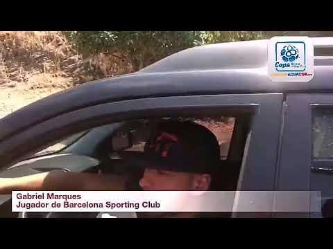 Gabriel Marques, jugador de Barcelona Sporting Club sobre su regreso al primer equipo
