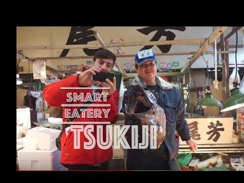 Tsukiji fish market. SUSHI TOKYO