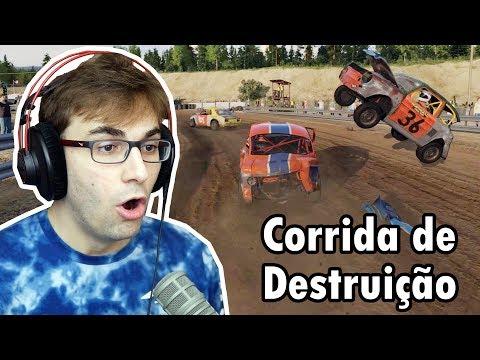 CORRIDA + DESTRUIÇÃO DE CARROS = WRECKFEST NEXT CAR GAME! (PC Gameplay)