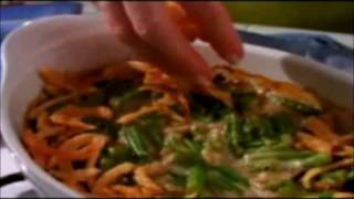 Campbell's Green Bean Casserole Holiday Promotion