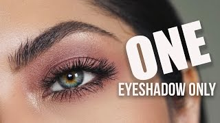 Simple One Eyeshadow Makeup | Melissa Alatorre