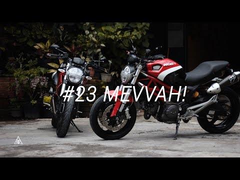 #23 Sunmori Ke Butik Moge Jogja, Test Ride Ducati Monster 795! - Motovlog Indonesia