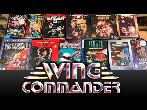 My WING COMMANDER collection - All the Games in BOX + Rare & Collectors Editions