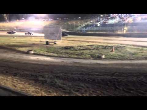 Santa Maria Speedway Hobby Stock No 73 8-4-12 Main Event