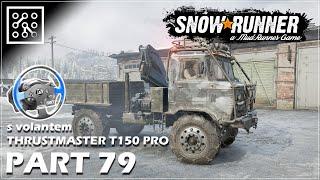 SNOWRUNNER CZ | Nepříznivé počasí - #79 + Thrustmaster T150 PRO  | Lets play | Česky