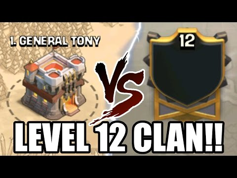 Clash Of Clans | LEVEL 12 CLAN WAR! THIS IS INSANE! | HIGHEST LEVEL CLAN!
