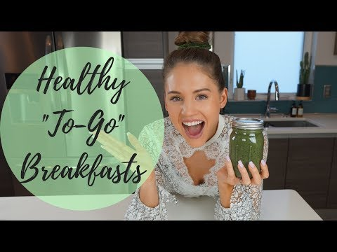 3 EASY ON-THE-GO BREAKFASTS   MACROS INCLUDED