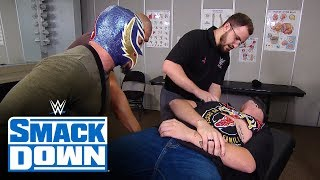 Brock Lesnar ambushes Cain Velasquez and the Mysterios: SmackDown, Oct. 25, 2019