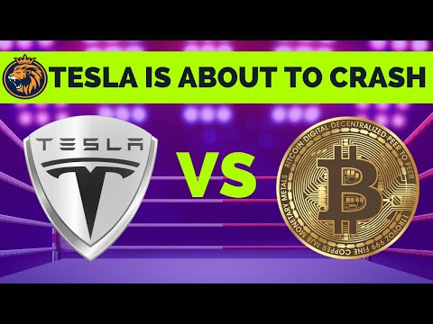 Tesla Stock News - TSLA Is About To CRASH - TSLA & BITCOIN - What Do They Have In Common?