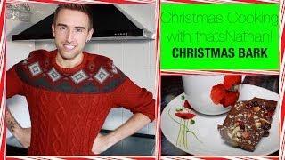 Christmas Cooking:  Chocolate Christmas Bark!!!!!!!