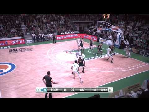 Darrin Dorsey #10 of Le Portel vs. Limoges full game France Pro A