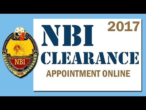 PAANO MAG-SCHEDULE NG NBI APPOINTMENT ONLINE / HOW TO SCHEDULE AN NBI APPOINTMENT ONLINE