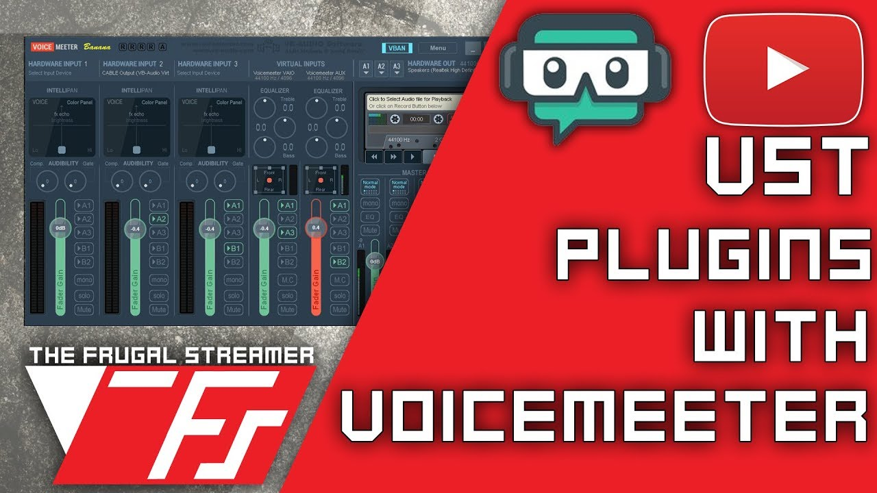 Voicemeeter Banana Guide: Use VST Plugins to Improve Your Mic Sound