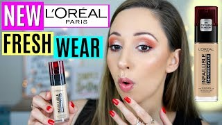 L'Oreal Infallible 24h Fresh Wear Foundation - Wear Test & Review