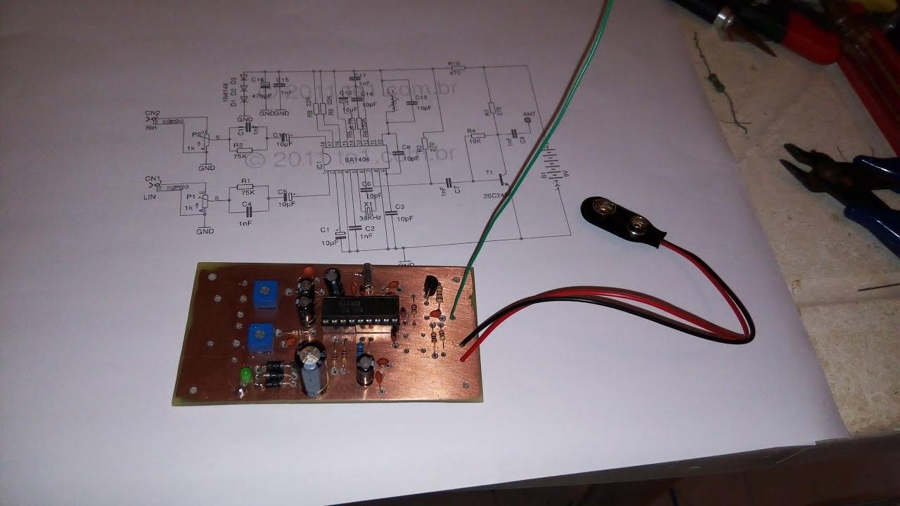 Transmisor Fm Ba1404 Estereo Hi Fi Stereo Transmitter