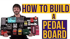 How to Build a Pedal Board!