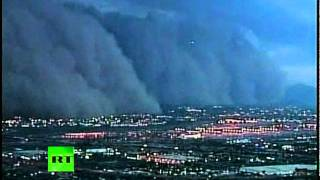 Phoenix Dust Storm: Video of Doomsday Scenes in Arizona thumbnail