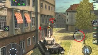 WoT Blitz Tiger II GamePlay
