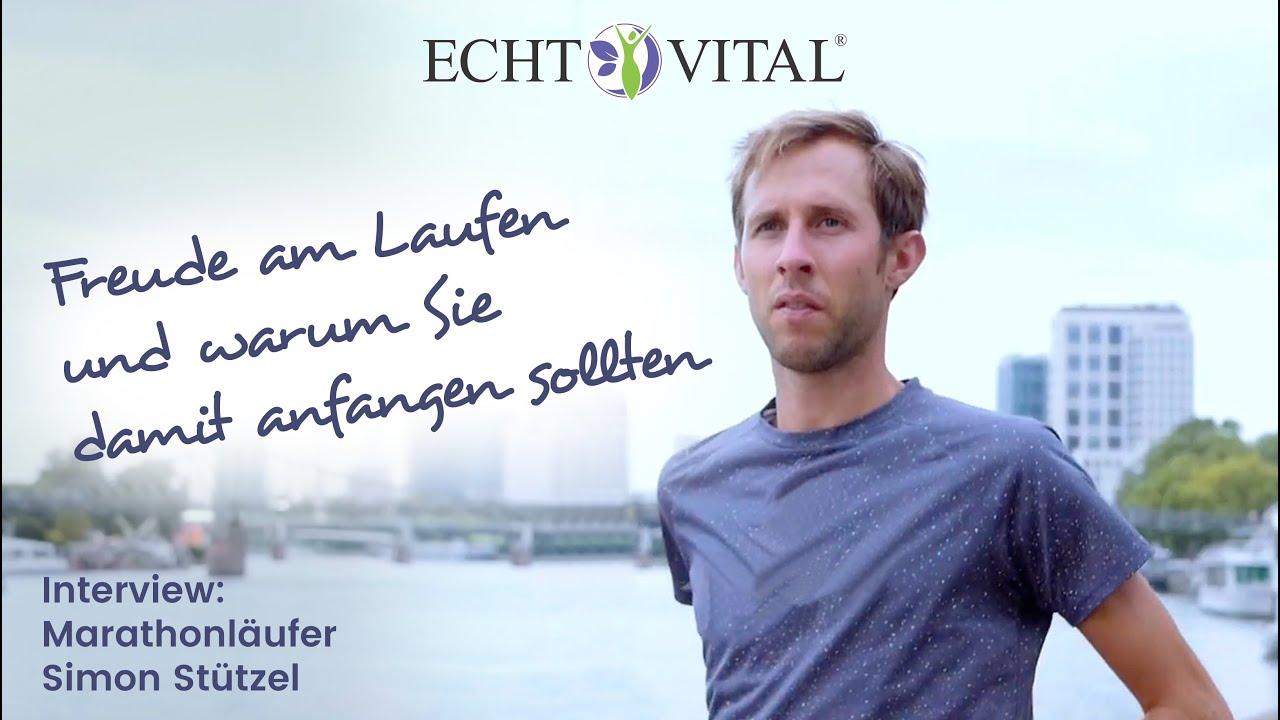 Marathonläufer Simon Stützel im Interview: Freude am Laufen – und warum Sie damit anfangen sollten!