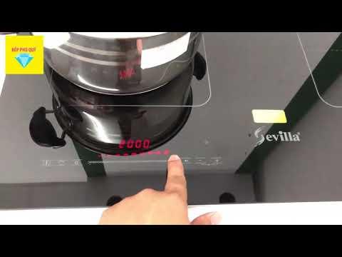 (Sevilla) Review Bếp điện từ Sevilla SV 137IC