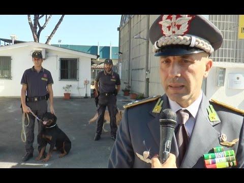 Napoli - Aeroporto, il nuovo canile della Guardia di Finanza (28.09.16)