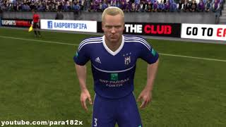 FIFA 13: R.S.C. Anderlecht Player Faces