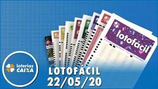 Resultado Da Lotofácil - Concurso Nº 1970 - 22/05/2020