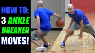 BASKETBALL ANKLE BREAKERS! Crossover Moves To Break Ankles   Get Handles Basketball