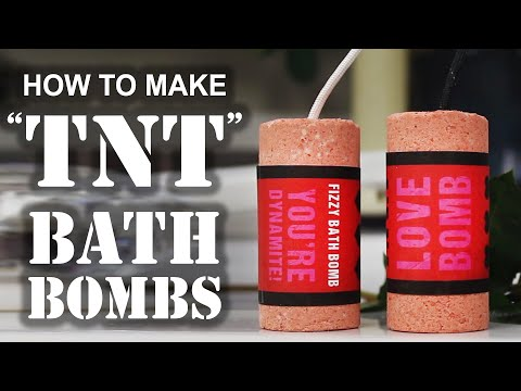How To Make A 'TNT' BATH BOMB