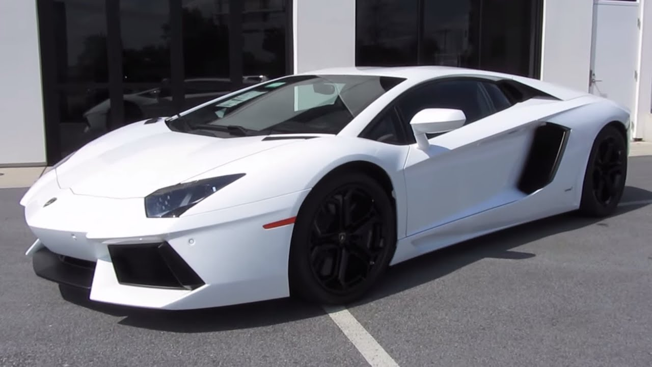2012 lamborghini aventador lp700-4 start up, exhaust, test drive
