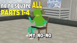 "No No square tiktok song ALL PARTS 1-4 / ""This is my No no square"" Song all parts"