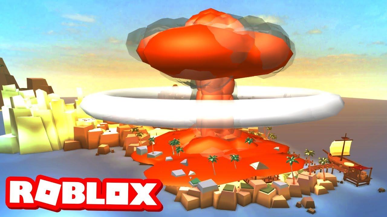nuking-the-island-in-roblox-beach-simulator