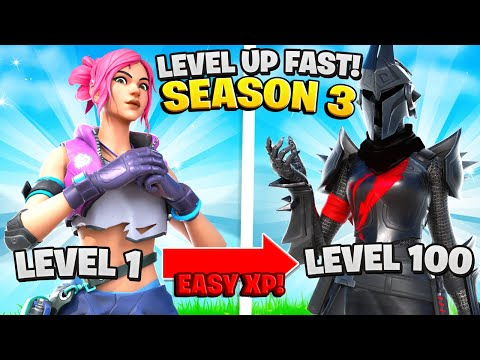 The FASTEST Ways To Level Up + Gain XP In Season 3! (Fortnite Level Up Fast)