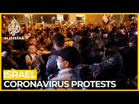 Israelis Protest Against Netanyahu, Gov't Handling Of COVID-19