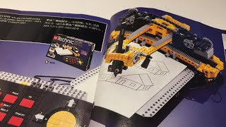 Vintage LEGO Technic 8094 Control Center All Models Commentary
